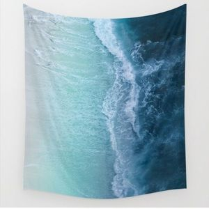 Turquoise sea tapestry